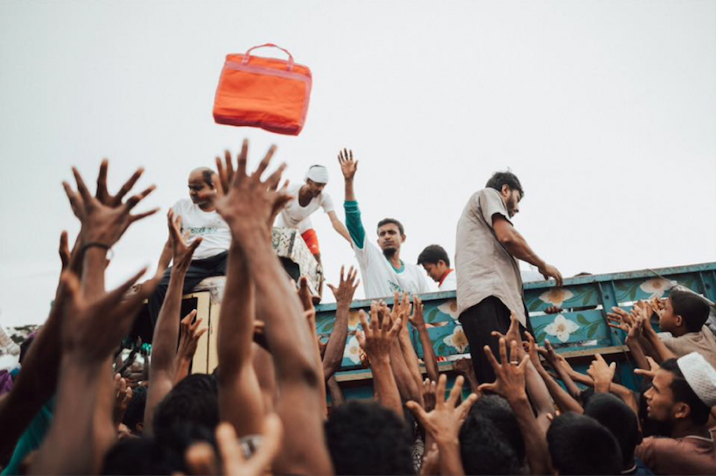 Ausrelief Helping With Rohingya Refugee Crisis